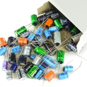 325 Pieces Capacitor Assortment Grab Bag Of Various Brands Values And Sizes