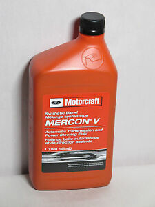 Synthetic Blend Mercon V Xt 5 Qsm Automatic Transmission Ps Fluid 1 Qt