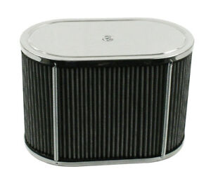 Air Cleaner Assembly For Idf Hpmx 5 5x9 Oval 6 Tall Dunebuggy Vw
