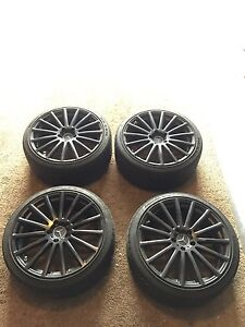 Mandrus Rotec 19 Inch Black Wheels 5x112