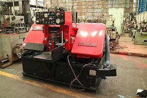 Amada Ha 400 Automatic Hydraulic Horizontal Band Saw 15 X 15