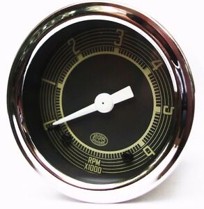 12v Tachometer 52mm 6000rpm Tacho For Vw Beetle Splitscreen Ghia Bay Aac195