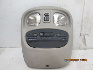 98 04 Dodge Intrepid Concorde 300m Lhs Overhead Console With Sunroof Homelink