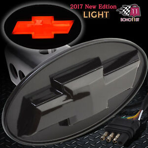 Chevrolet Chevy Licensed Led Light Trailer Towing Hitch Cover Black 6530