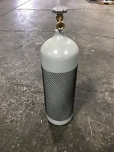 60 Cf Welding Cylinder Tank Bottle For Argon 75 25 Nitrogen Dot New 10 Year