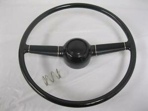 1940 Ford Deluxe 15 Steering Wheel For Gm Steering Column W Horn Button