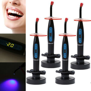Us New Dental 10w Wireless Cordless Led Curing Light Lamp 2000mw Tool Fast Ship