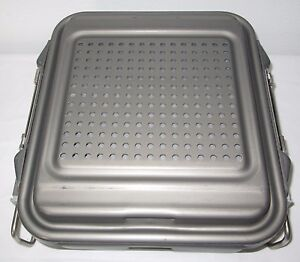 V Mueller Allegiance Genesis Carefusion Sterilization Container Cd1 4b Tray