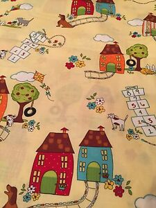 Neighborhood Monica Lee for Timeless Treasures Cotton Fabric Sold By 1 2 Yard $5.00