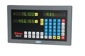 Ditron 12x30 Mill Package Dro System