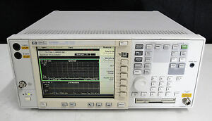 As is Agilent Hp E4406a bac bae bah std Vector spectrum Signal Analyzer