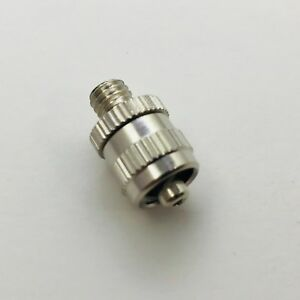 Metal Male Luer Lock Syringe Fitting To Unf 10 32 Male
