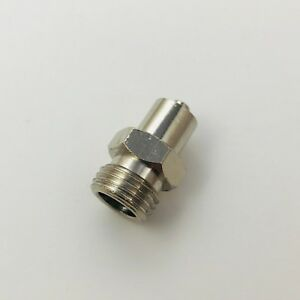 Metal Male Luer Lock Syringe Fitting To Pipe Npt 1 4 Male