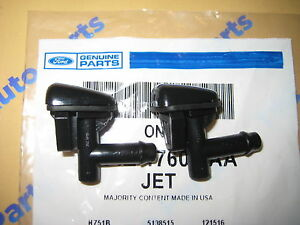 2 Lincoln Ls Windshield Washer Squirter Nozzle Spray Jets Oem New 2000 2002