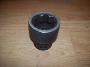 Snap On Sim756 Inch Drive 8 Point 1 3 4 Impact Socket
