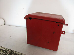 International H Tractor Original Battery Box
