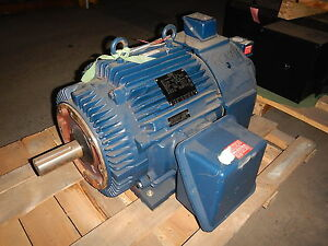 60 Hp Marathon Electric Motor 0 1800 Rpm 364tc Fr Teao 460 V Inverter Duty