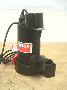 3 4 Hp Submersible Sump Pump Vertical Switch 120v 1 1 2 Npt Discharge