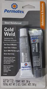 Permatex 14600 Cold Weld Bonding Compound 2 Oz
