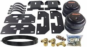 Air Tow Assist Load Level Kit For 2014 18 Dodge Ram 3500 Truck No Drill Install