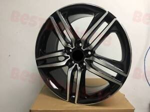 20 Accord Sport Style Wheels Rims Black Machine Fits Honda Civic Si Hfp Crv Ex