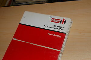 Case Ih 385 Tractor Parts Manual Book List Catalog Spare Farm 8 3330 Factory Oem