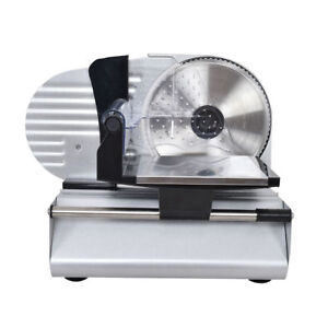 Commercial Electric Stainless Steel Electric Deli Meat Cheese Slicer 7 5 Saw