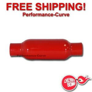 Cherry Bomb Glasspack Exhaust Muffler 2 In Out 12 Body 87520cb