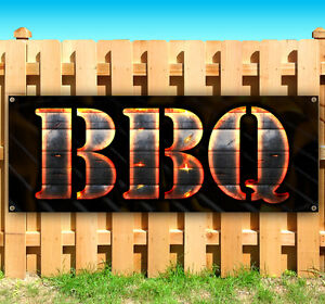 Bbq Advertising Vinyl Banner Flag Sign Many Sizes Available Ribs Wings Pork Hot