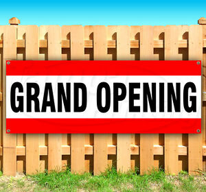Grand Opening Advertising Vinyl Banner Flag Sign Many Sizes Available