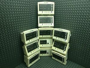Lot Of 11 Welch Allyn 52000 Series Vital Signs Monitor Untested For Parts
