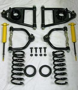 Mustang Ii Front End Suspension Tubular A Arms 425 Lb Spring Gas Shock Kit