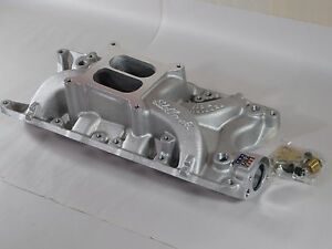 New In Box Edelbrock 7121 Ford 289 302 Performer Rpm Intake Manifold