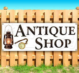 Antique Shop Advertising Vinyl Banner Flag Sign Many Sizes Available Usa