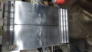 Beverage Air Kr48 1as 54 inch Two Section Reach in Refrigerator