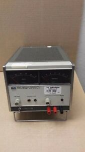 Hp 6104a Hewlett Packard 0 20v 2a 20 40v 1a Precision Power Supply