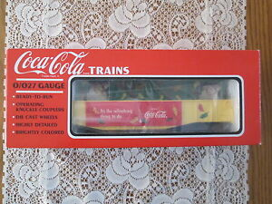 Coca-Cola Trains K-Line K653602 Coca-Cola For All Seasons Car