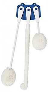 Foam Brush Set Glassware Cleaning 2 Height Labs Kitchen School Water Home Safe