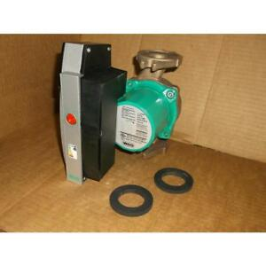 Wilo 4117305 08w37 1 25hp Bronze Water Circulating Pump 230 60 1 183051