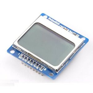 1pcs 84 48 Lcd Module Blue Backlight Adapter Pcb For Nokia 5110