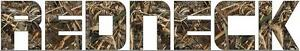 Mossy Oak Redneck Camo Windshield Window Sticker Decal Real Tree 5 X 29