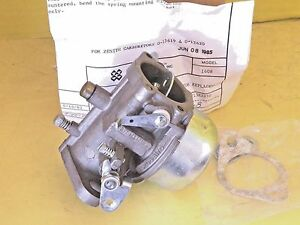 Genuine Zenith New Carburetor 13619 Hercules 10 Hp 1969 1970 1971 Army Ind