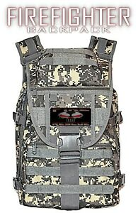 Fire Rescue Firefighter Backpack Trl Turn Out Gear Duty Bag Free Shipping