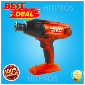 Hilti Sid 8 a18 Compact Package New 2 Batteries Free Hat Fast Ship
