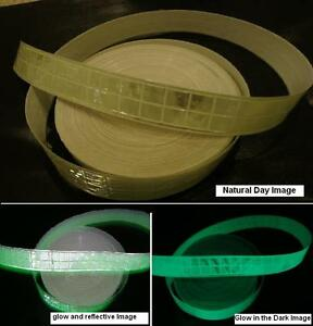 Glow In The Dark Reflective Tape