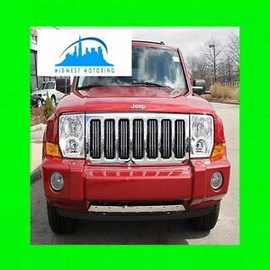 05 11 Jeep Commander Chrome Trim For Grill Grille 06 07 08 09 10 5yr Warranty