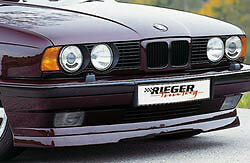 Bmw E34 5 Series 1988 1996 Oem Genuine Rieger Brand Front Spoiler Lip Brand New