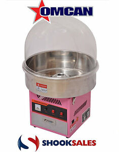 Omcan Cf cn 0720 41337 Countertop Cotton Candy Maker With 28 Bowl New York