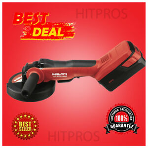 Hilti Ag 600 a36 Cordless Angle Grinder New 2 Batteries Fast Ship