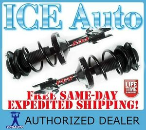Fcs Complete Loaded Front Struts Springs For 11 13 Subaru Forester Wagon Awd